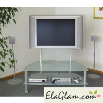 Lcd tv Trolley Aluminium h12501