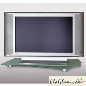 Supporto tv girevole in cristallo temperato h12506